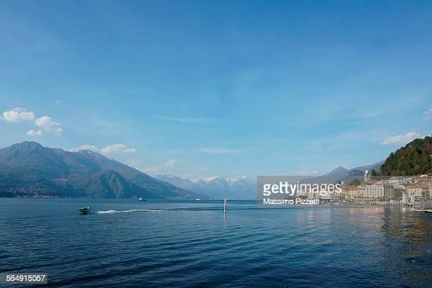 bellagio on lake como - massimo pizzotti foto e immagini stock