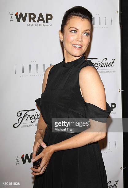 Bellamy Young arrives at TheWrap's First Annual Emmy Party held at The London West Hollywood on June 5, 2014 in West Hollywood, California.