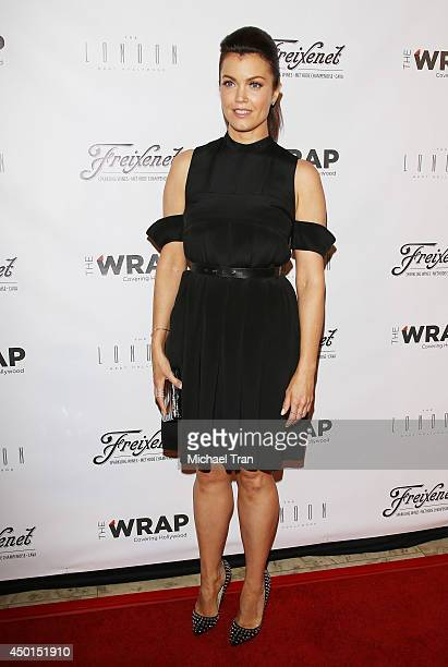 Bellamy Young arrives at TheWrap's First Annual Emmy Party held at The London West Hollywood on June 5 2014 in West Hollywood California