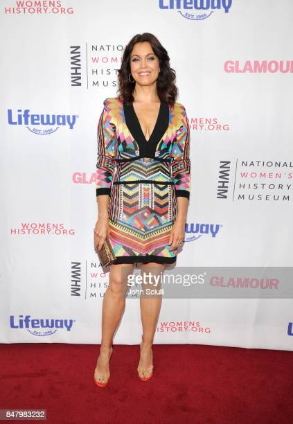 Bellamy Young at the Women Making History Awards at The Beverly Hilton Hotel on September 16 2017 in Beverly Hills California
