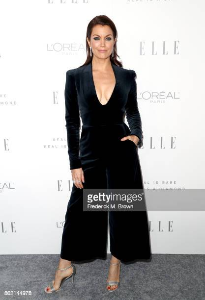 Bellamy Young attends ELLE's 24th Annual Women in Hollywood Celebration at Four Seasons Hotel Los Angeles at Beverly Hills on October 16 2017 in Los...