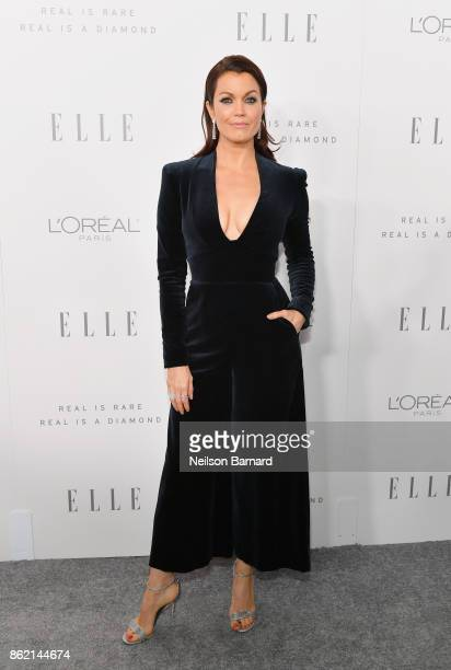 Bellamy Young attends ELLE's 24th Annual Women in Hollywood Celebration presented by L'Oreal Paris Real Is Rare Real Is A Diamond and CALVIN KLEIN at...