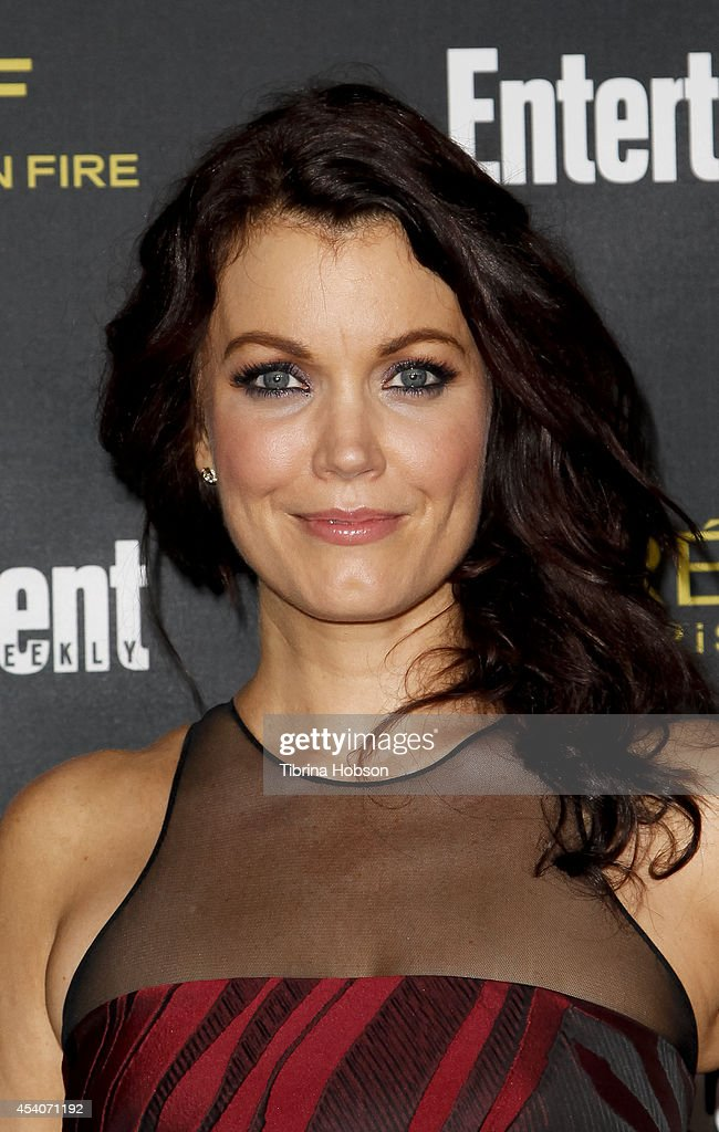 Bellamy Young attends Entertainment Weekly's Pre-Emmy party at Fig & Olive Melrose Place on August 23, 2014 in West Hollywood, California.