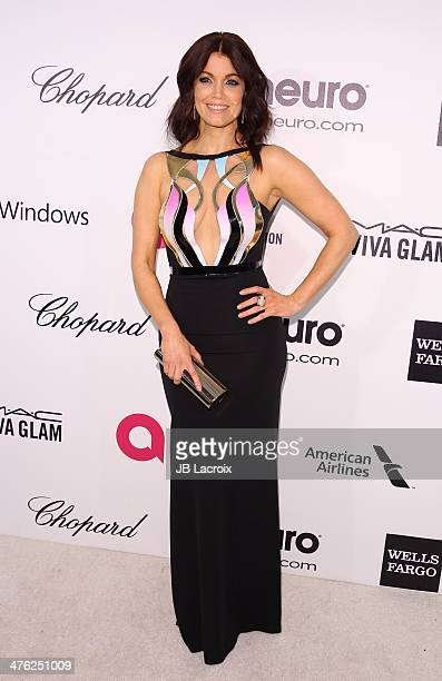 Bellamy Young attends the 22nd Annual Elton John AIDS Foundation's Oscar Viewing Party on March 2 2014 in West Hollywood California