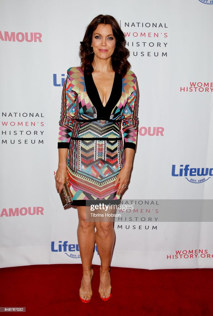 Bellamy Young attends the 6th Annual Women Making History Awards at The Beverly Hilton Hotel on September 16, 2017 in Beverly Hills, California.