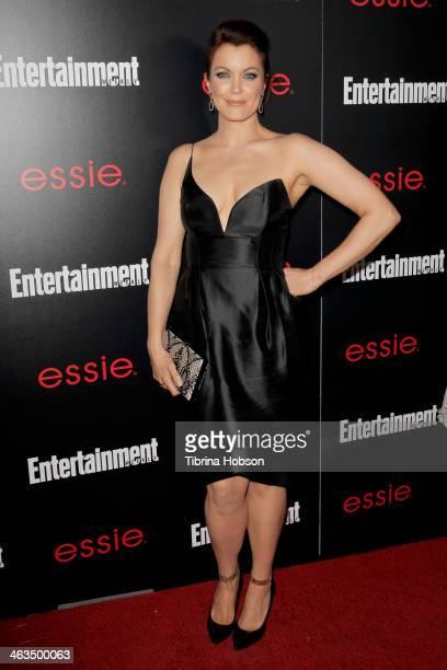 Bellamy Young attends the Entertainment Weekly SAG Awards preparty at Chateau Marmont on January 17 2014 in Los Angeles California