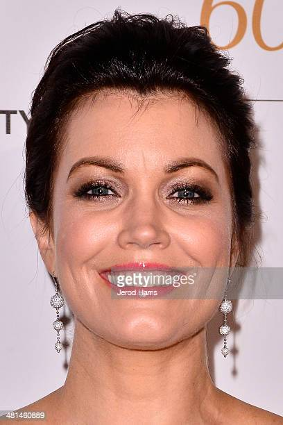 Bellamy Young attends the Humane Society of the United States 60th Anniversary Benefit Gala at The Beverly Hilton Hotel on March 29 2014 in Beverly...