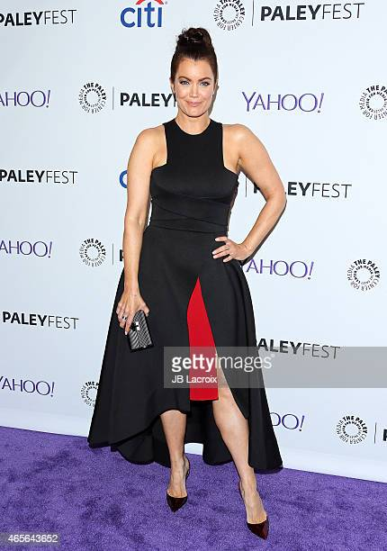 Bellamy Young attends The Paley Center For Media's 32nd Annual PALEYFEST LA 'Scandal' at the Dolby Theatre on March 8 2015 in Hollywood California
