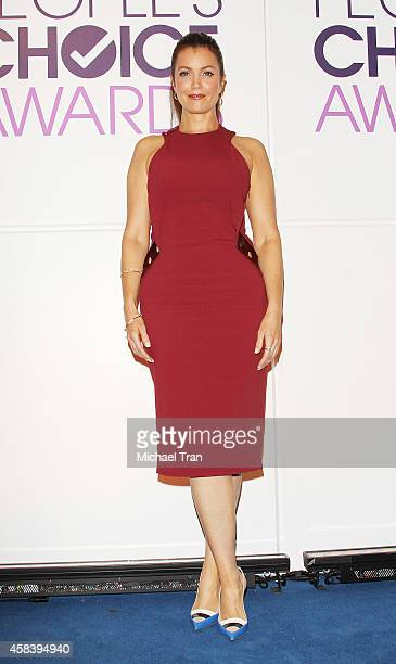 Bellamy Young attends the People's Choice Awards 2015 nominations press conference held at The Paley Center for Media on November 4 2014 in Beverly...