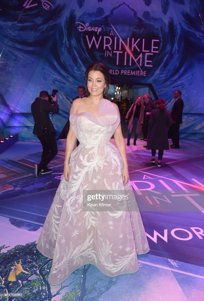 Bellamy Young attends the premiere of Disney's 'A Wrinkle In Time' at the El Capitan Theatre on February 26, 2018 in Los Angeles, California.