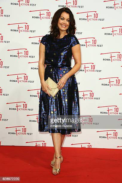 Bellamy Young attends the 'Shondaland' red carpet during the Roma Fiction Fest 2016 at The Space Moderno on December 10 2016 in Rome Italy