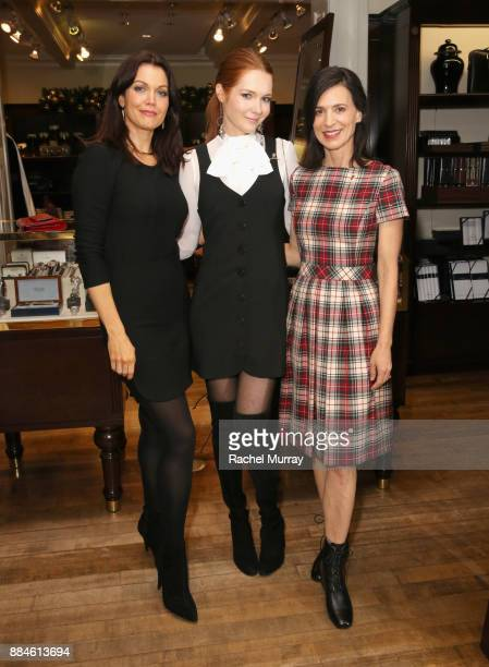 Bellamy Young Darby Stanchfield and Perrey Reeves attend the Brooks Brothers holiday celebration with St Jude Children's Research Hospital at Brooks...
