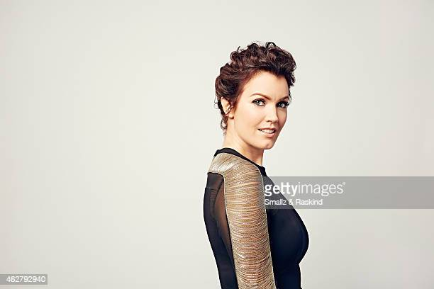 Bellamy Young poses during the The 41st Annual People's Choice Awards at Nokia Theatre LA Live on January 7 2015 in Los Angeles California