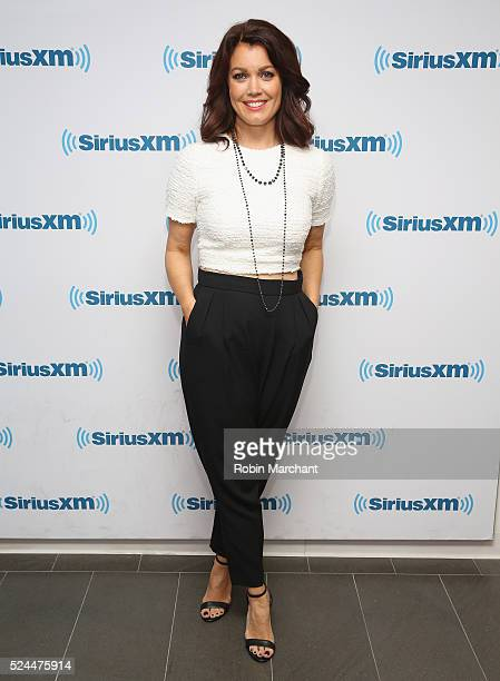 Bellamy Young visits at SiriusXM Studio on April 26 2016 in New York City