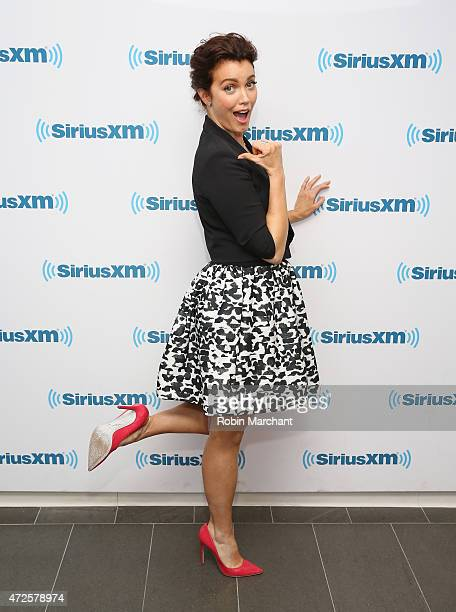Bellamy Young visits at SiriusXM Studios on May 8 2015 in New York City