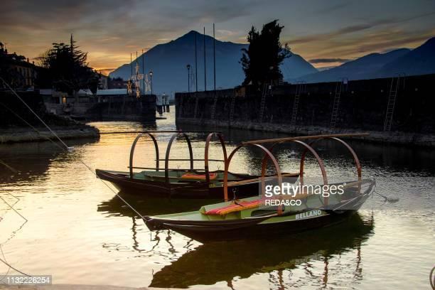 Bellano lake front Como Lake Lombardy Italy Europe