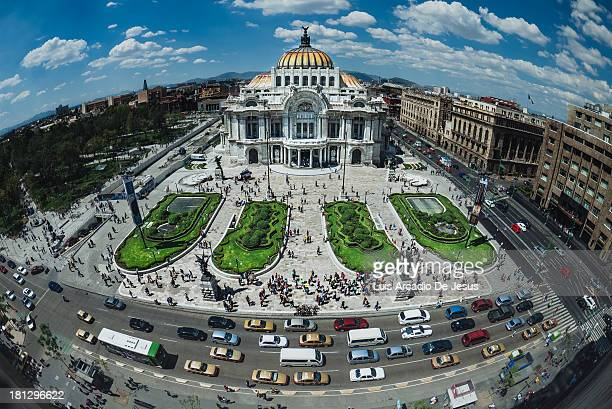 CONTENT] Bellas Artes is an iconic structure in the downtown area of Mexico City