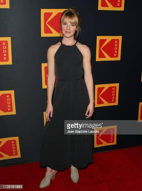 Belle Adams attends the 3rd annual Kodak Awards at Hudson Loft on February 15 2019 in Los Angeles California