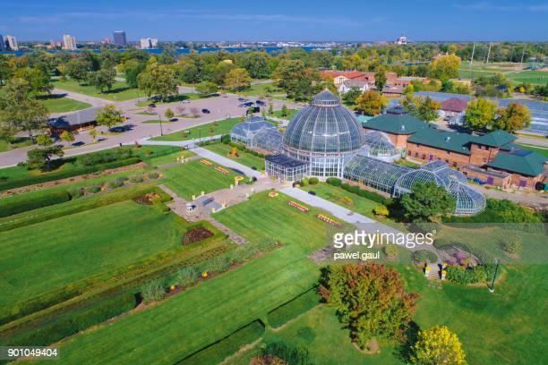 belle isle antena detroit - jardim botânico - fotografias e filmes do acervo
