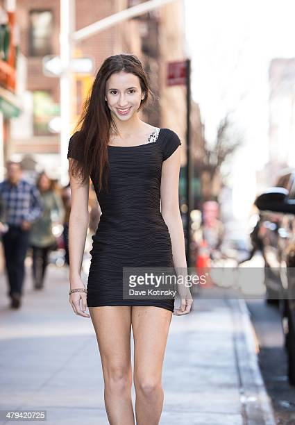 Belle Knox poses for photos on March 18 2014 in New York City