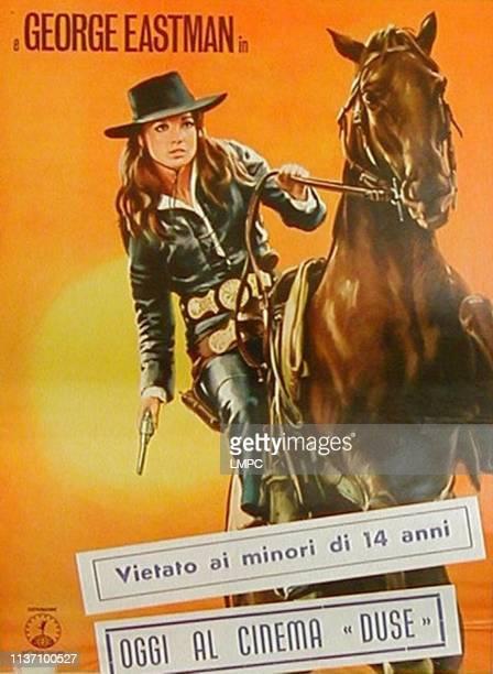 Belle Starr poster Elsa Martinelli 1968