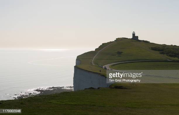 belle tout lighthouse - belle tout lighthouse stock photos and pictures