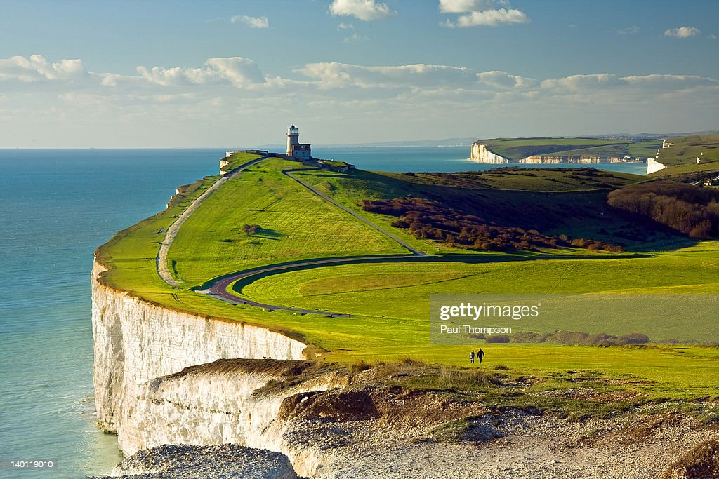 Belle Tout lighthouse : Stock Photo