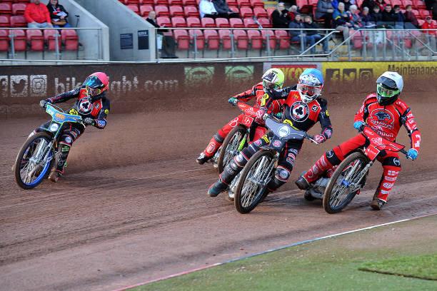 GBR: Belle Vue Aces v Peterborough - Speedway