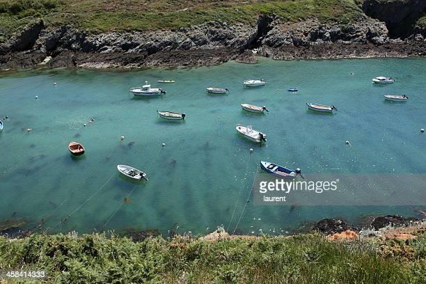 belle-île-en-mer - golfe du morbihan photos et images de collection