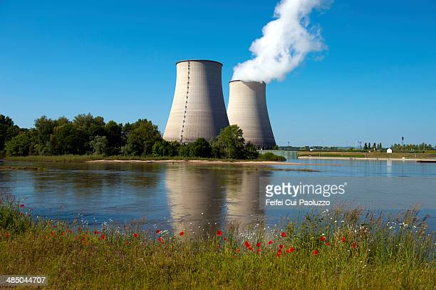 Belleville Nuclear Power Plant at Belleville-sur-Loir, in the Cher department in the Centre region of France.
