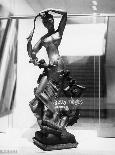 "Belling, Rudolf *26.08.1886-+ Bildhauer, D - ""Gruppe Natur"" - 1918"