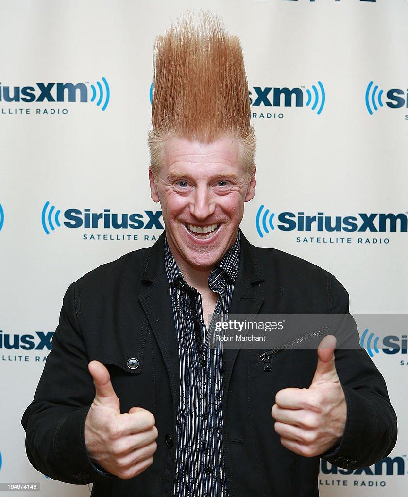Bello Nock visits SiriusXM Studios on March 25, 2013 in New York City.