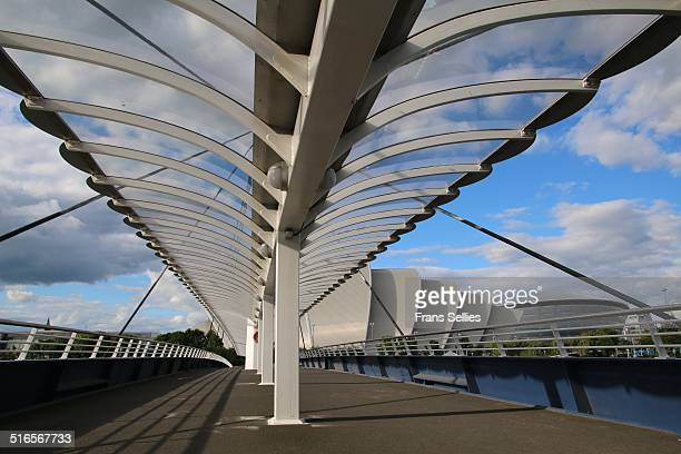 Bell's bridge, the armadillo, SSE Hydro, Glasgow
