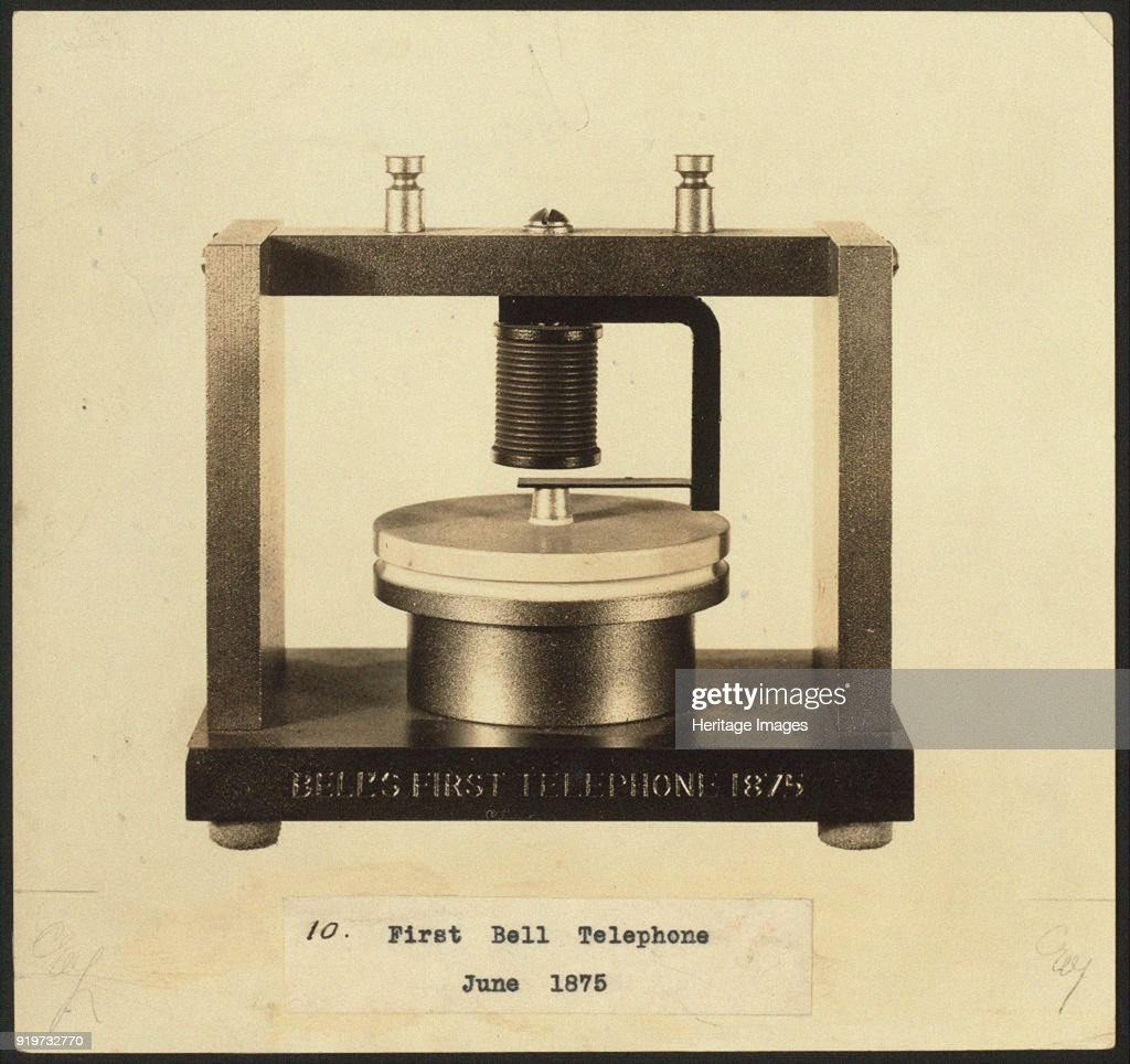 Bells First Telephone, : News Photo