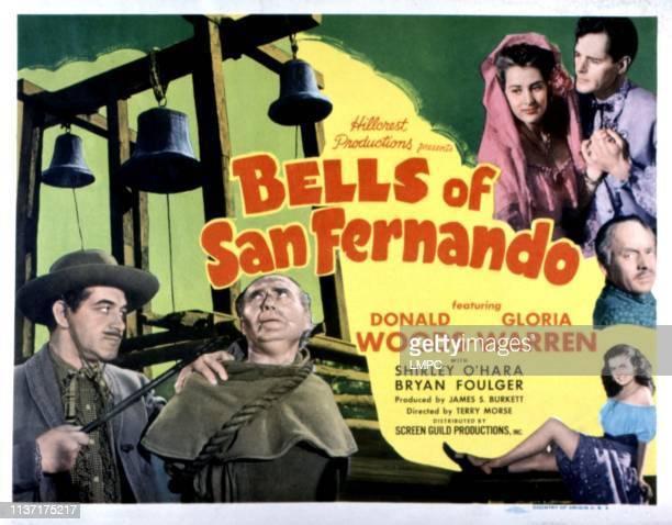 Bells Of San Fernando poster US poster Anthony Warde David Leonard Gloria Warren Donald Woods Shirley O'Hara 1947