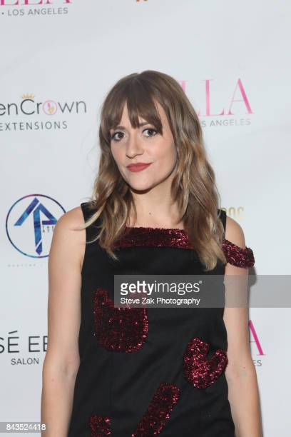 Bellsaint attends Bella Magazine NYFW Kickoff Party at The Attic Rooftop Lounge on September 6 2017 in New York City