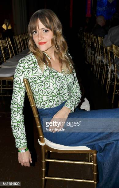 Bellsaint attends New York Fashion Week NYFW Art Hearts Fashion at The Angel Orensanz Foundation on September 10 2017 in New York City
