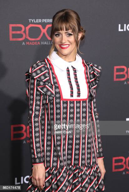 Bellsaint attends the Premiere Of Lionsgate's 'Tyler Perry's Boo 2 A Madea Halloween' at Regal LA Live Stadium 14 on October 16 2017 in Los Angeles...