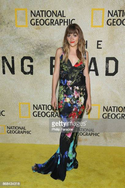 BellSaint attends the premiere of National Geographic's 'The Long Road Home' at Royce Hall on October 30 2017 in Los Angeles California