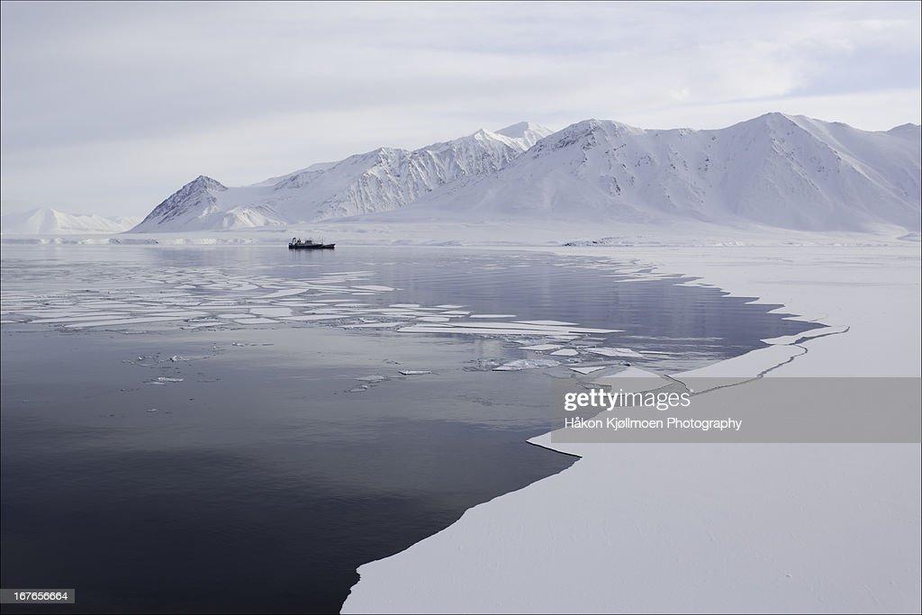 Bellsund, Svalbard : Stock-Foto