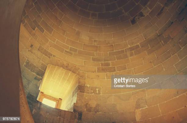 Bellver Castle tower interior, Palma de Mallorca, Spain