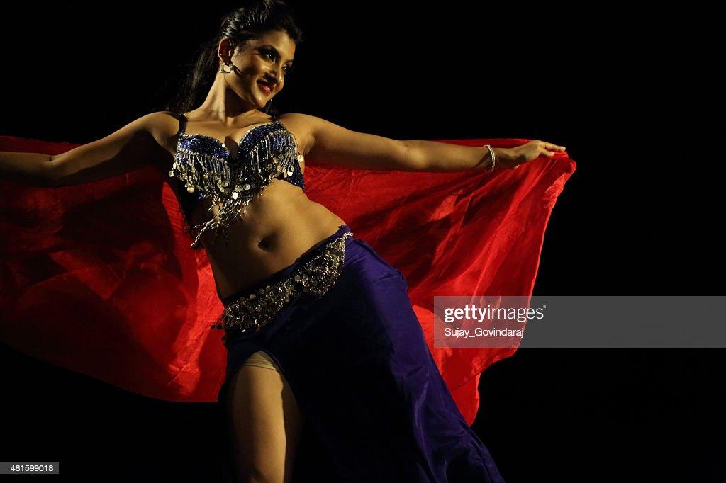 Beautiful belly dancer milf