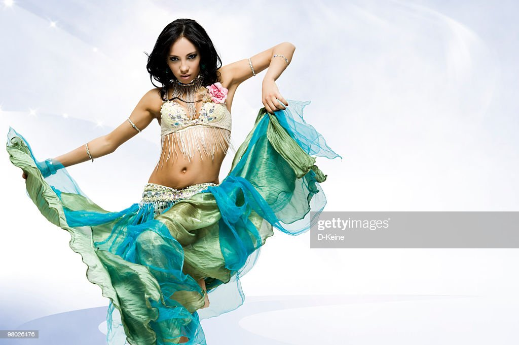 Beautiful belly dancer milf