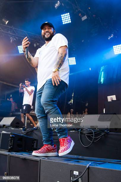 Belly performs during Wireless Festival 2018 at Finsbury Park on July 7th 2018 in London England