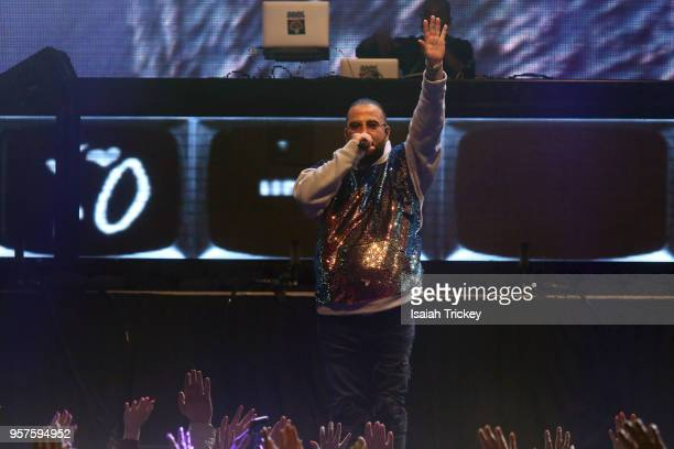 Belly performs for the 2018 iHeartRadio FanFest during 2018 Canadian Music Week on May 11 2018 in Toronto Canada