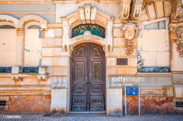 belmarco palace - faro - faro city portugal stock photos and pictures