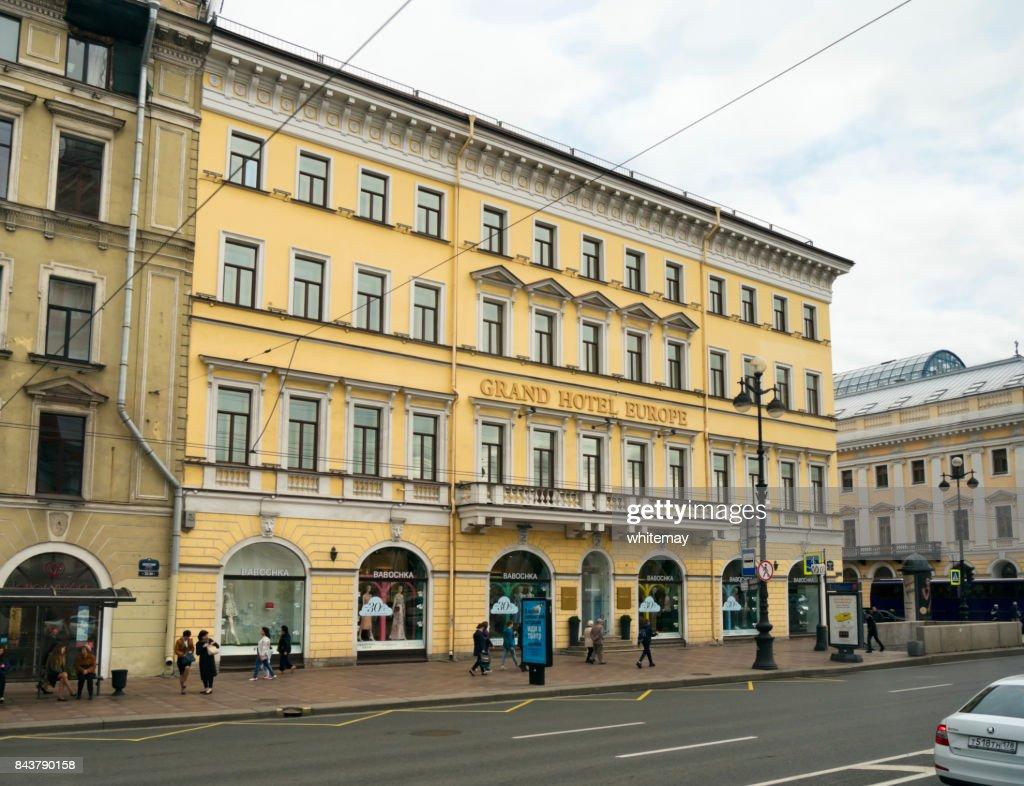 Belmond Grand Hotel Europe St Petersburg Stock Foto Getty Images