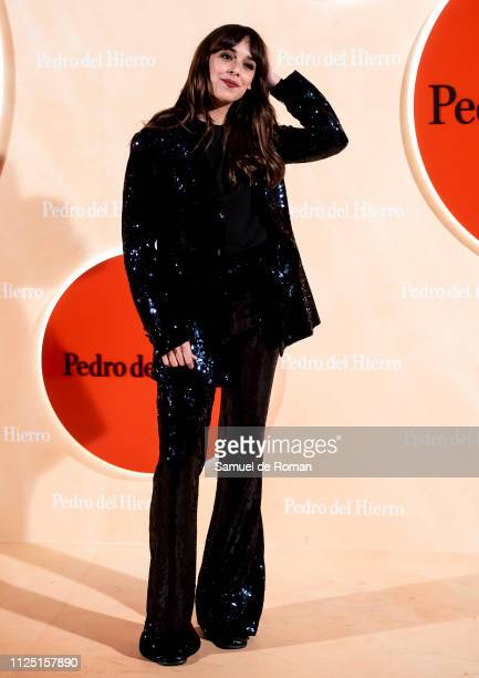Belén Cuesta attends the Pedro Del Hierro fashion show during the Mercedes Benz Fashion Week Autumn/Winter 20192020 on January 26 2019 in Madrid Spain