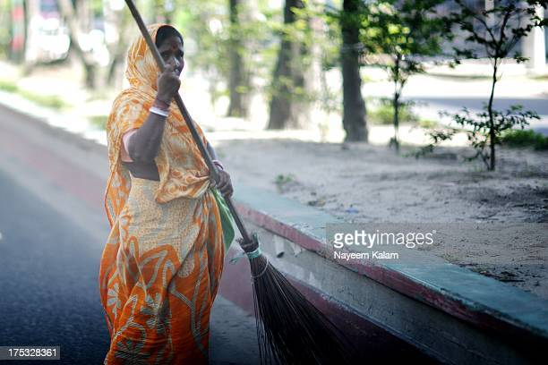 Belonging to the lowest caste in the Hindu system, she works for the municipality as a sweeper, a candid through the windshield.... Nor Ahmed Road,...