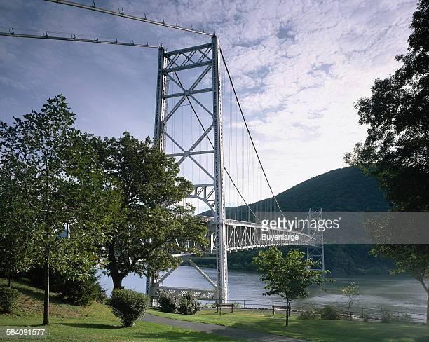 Below Bear Mountain bridge Appalachian Trail New York